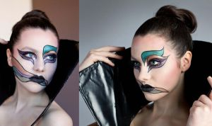 Canada's Best Beauty Talent Audition photo by maliciousmakeup