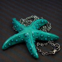 Sea Star Necklace by beatblack