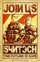 Join SYNTECH poster 2 by AndrewKwan