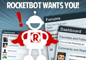 Rocketbot wants you! Public site now live. by genekelly