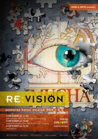 poster RE:VISION by makananjugaseni