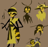 yellowjacket ideas by SulphurSpoon