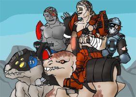 GOW: this is how we meet by LaDarkA117