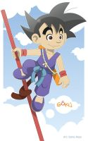 Dragon Ball Origins Son Goku by Torogoz