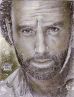 The Walking Dead Rick Grimes by RODEL MARTIN 0224 by rodelsm21