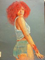 Rhianna work in progress pic2 by dezz1977