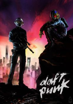 Daft Punk by aaydo