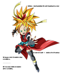 DB Heroes GM Heroine ssj v4 Render by Metamine10