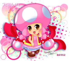 Fanart: Toadette by Bowser2Queen