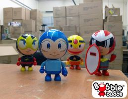Bobble Budds Mega Man and his crew! by BobbleBudds