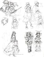 More... Sketches? by ingridsailor2009