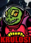 Cartoon Villains - 095 - Krulos from Dino-Riders! by CreedStonegate