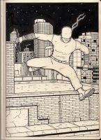 Daredevil Sketchbook Sketch by KennySwanston