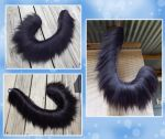 Massive 32 inch yarn tail - COMMISSION by Black-Heart-Always