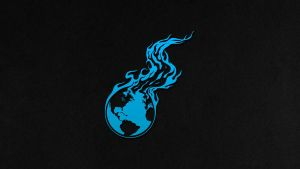 Burning Earth Wallpaper Light Blue 3840x2160 by imaximus