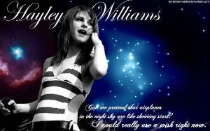 Hayley Williams - Airplanes WP by KeybladeMeister