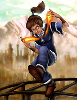 Legend of Friggin Korra by yourcommonmuggle