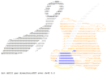 Plume cravate ASCII by AlexiSonicKST
