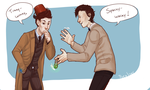 Tumblr req - Doctor Who by Poralizer