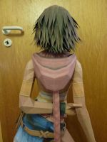Yuna - Papercraft Picture 4 by JouzuMania