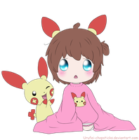 Pokemon Request for AnimeCutie1~ by Urufei-Chopsticks