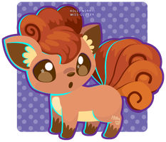 037 Vulpix by Miss-Glitter