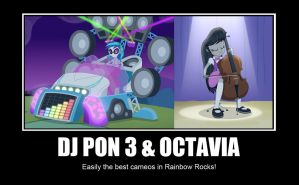 DJ PON 3 and Octavia Meme by GreenMachine987