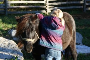 A Girl and Her Pony by ringette-and-riding