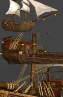 pirate ship by gorverius