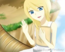 KH Break Time - Namine by Slypht