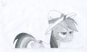 Daring Do Shaded by CaptainBoat