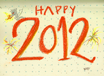 Happy tangerine 2012 by badianychick