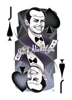Jack Nicholson of Spades by inkjava
