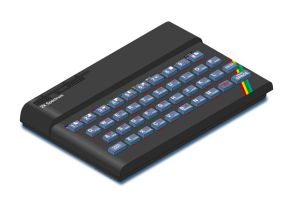Sinclair Spectrum by HairyDalek