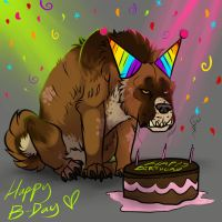 'APPY BURFDAY!! by Sargeant-Knoxx