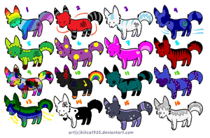 Cheap Cute Wolf Adopts CLOSED EXCEPT FOR CUSTOMS by xxBrandy