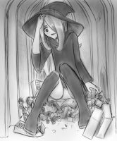 Sucy is too big by AlloyRabbit