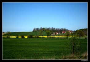 Polish Countryside - Village by adamsik