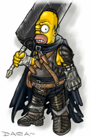 homer the mercenary by mistressofcows