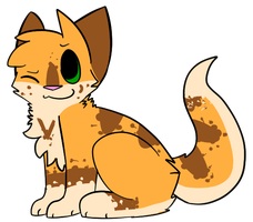 .:Full Body:. Freckled-Kat by BarrelDog