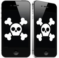 Jolly Roger for iPhone by etheerea