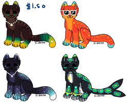 $ adopts open by starbleach
