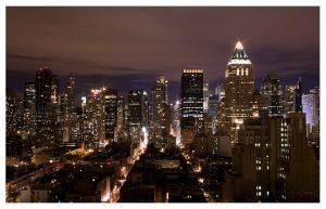 Manhattan Lights by FlippinPhil