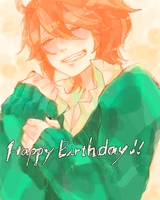 #1: brother's birthday by milkykuyu