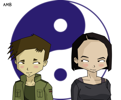 Ulrich and Yumi, Ying Yang by ambspier