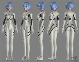 Rei Ayanami Turntable by Liemn