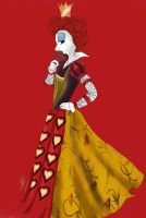 Queen of heart by lilka23