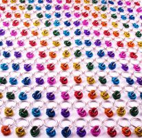 200 Rainbow Stitch Markers by redpandachainmail