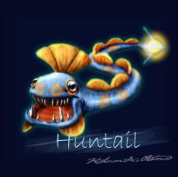 Huntail realistic by TheCreationist