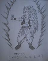 Gotenks SSJ3 by unknown3173